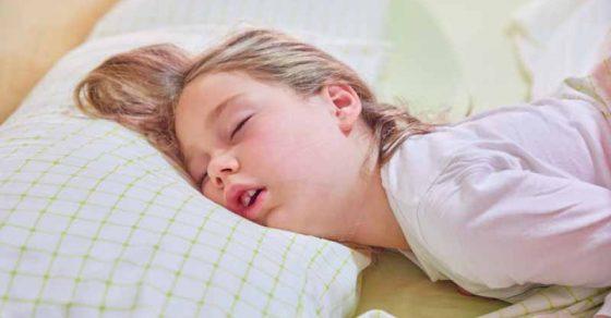 La respiration buccale chez l'enfant